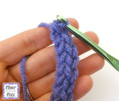 Learn how to work the Foundation Single Crochet Stitch (fsc) with this easy tutorial! Visit the Fiber Flux blog for free patterns & tutorials: http://www.fib...