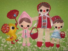 felt dolls