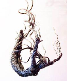 Escultura de arame. Richard Stainthorp.