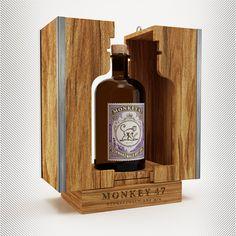 Monkey 47 Glorificador Box on Behance