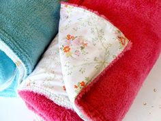 DIY sheet blanket! What a great idea! Sew a flannel sheet to an inexpensive poly-fiber blanket to give it more warmth and weight.