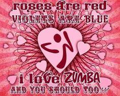 With Zumba LOVE on Valentine's Day!