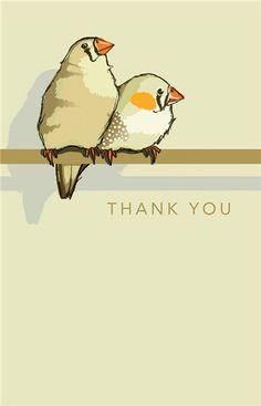 Bedankt lieve schatten!