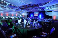 The Oregon Ballroom beautifully transformed during the International Oil Spill Conference.