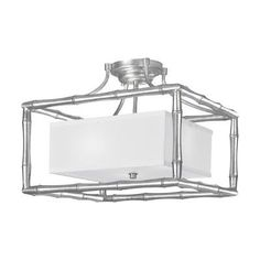 Libby Langdon for Crystorama Masefield 3 Light Semi Flush Mount