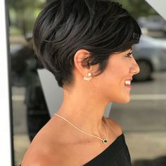 60 pixie cuts we love for 2019 short pixie hairstyles the short pixie cut 42 great haircuts you ll see for 2019 17 s that prove pixie cuts look incredible with curly hair latest pixie haircuts for every lady need to see 50 long pixie. Thick Hair Pixie, Short Hairstyles For Thick Hair, Very Short Hair, Short Pixie Haircuts, Short Hair Cuts For Women, Different Hairstyles, Pixie Hairstyles, Short Hair Styles, Bob Haircuts