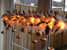 Raam decoratie kerst