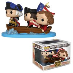 Funko Pop Icons George Washington Crossing The Delaware SDCC Target Exclusive 🔥 Joseph, Funko Pop Dolls, Funk Pop, Harry Potter, American Independence, Delaware River, History Memes, Women's History, Ancient History