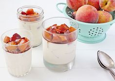 Cool, creamy, and luxurious, this peach panna cotta is the easiest and most delicious way to indulge in fresh summer peaches!