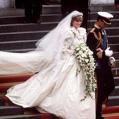 Iconic Wedding Dresses - Princess Diana (m. Prince Charles in 1981)