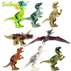 SuSenGo 8pcs/lot Dinosaurs Mini Figure movie Kid Baby Toy Building Blocks Sets Model Toys Minifigures #>=#>=#>=#>=#> Click on the pin to check out discount price, color, size, shipping, etc. Save and like it!