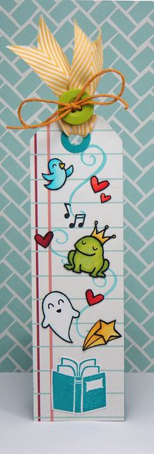 Love Yainea's Lawn Fawn bookmark