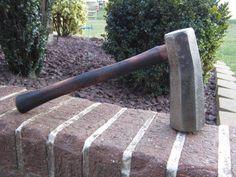 RARE Huge 8 lb Dog Head Hammer Sawyers Saw Maker Blacksmith Anvil Forge Tool | eBay