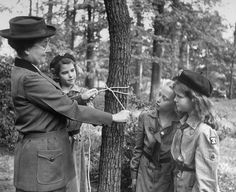 The First Girl Scout: Portraits of Daisy Gordon Lawrence | LIFE.com