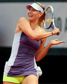 Maria Sharapova Hot, Sharapova Tennis, Monica Puig, Maria Sarapova, Beautiful Athletes, Tennis Players Female, Hot Cheerleaders, Athletic Women, Female Athletes