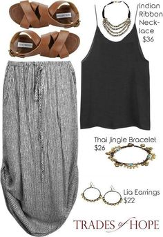 Boho chic – this is so you - Mode Pour Couples Chic Summer Outfits, Spring Summer Fashion, Casual Outfits, Spring Break, Summer Clothes, Summer Dresses, Summer Fall, Style Summer, Summer Chic