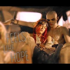 """""""Feels like Hope"""" Capable Nux Couple from Mad Max fury road movie 2015"""