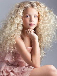 Follow the tips to manage your child's curly hair. Because my children will likely have ridiculous hair