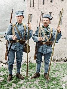 "redarmyscreaming: ""WW1 Austro-Hungarian alpine infantry 1916. Colourised """