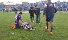 Peru'da Maç Sırasında Yıldırım Düştü