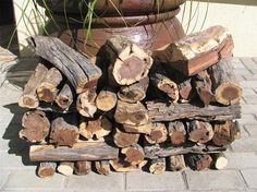 Another superb Sun Dried African Firewood, Very dense, highly calorific, very low moisture content African Firewood logs give incredible long lasting intense heat. Buy today at firewoodandlogs.co.uk