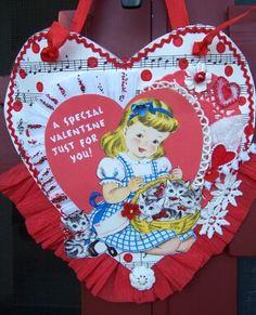 Special Valentine Posy Pocket