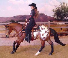 """FLINT"" - Excellent Perfomance Stock Horse Resin by Chris Flint"