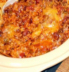 "Crock Pot Mexican Casserole from Food.com: 								This recipe is from the cookbook, ""Fix-It and Forget-It Lightly"". The ideal slow-cooker size for this recipe is 4 or 5 quarts."