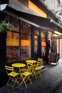Restaurant Terrace -YALLA YALLA Beirut street food, London
