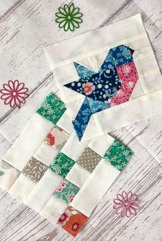 Flying Bird Quilt - Tutorial Quilt Patterns Free, Modern Quilt Patterns, Panel Quilts, Quilt Blocks, Rag Quilt Instructions, Bird Quilt, Missouri Quilt, Quilt Tutorials, Bird Design