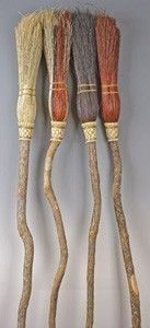 White Magick Alchemy - Natural Colored Ceremonial Broom ~ Witches Besom, $39.95 (http://www.whitemagickalchemy.com/natural-colored-ceremonial-broom-witches-besom/)