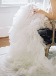 Romantic Wedding Inspiration, Elopement Inspiration, Elegant Wedding, Dream Wedding, Wedding Stuff, Wedding Attire, Wedding Gowns, Bridal Boudoir, Tulle Gown