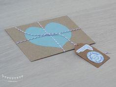 Wedding Invitation - Invitación de Boda 'Crafty Heart'