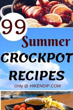 99 Dump & Forget Summer Crockpot Recipes for lazy hot weeknight dinners - Hike n Dip Slow Cooker Beef Curry, Slow Cooker Creamy Chicken, Slow Cooker Tacos, Crock Pot Slow Cooker, Crock Pot Cooking, Slow Cooker Recipes, Gourmet Recipes, Crockpot Recipes, Cooking Recipes