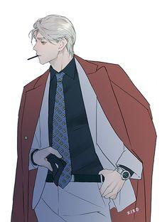 Chica Anime Manga, Manga Boy, Hot Anime Boy, Cute Anime Guys, Character Art, Character Design, Anime Boy Zeichnung, Arte Fashion, Handsome Anime Guys