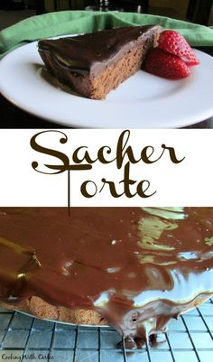This Sacher Torte is a chocolate lover's dream come true. It comes from Vienna but is sure to be a hit wherever you are!