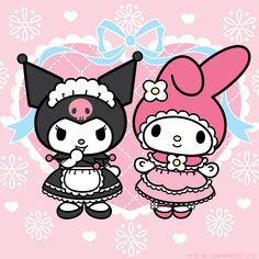 Kuromi and My Melody may be friendly rivals, but that doesn't mean they can't celebrate together!