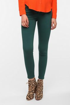 BDG Cigarette High-Rise Jean - Pine Available in Two Lengths!
