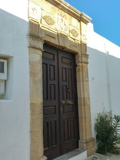 Lindos, Rhodos. It's not just the door, it's the archway too!