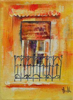 Tryptique peinture moderne toile abstraite effet 3d for Fenetre petit prix