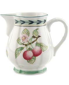 Villeroy & Boch Dinnerware, French Garden Fleurence Creamer - Casual Dinnerware - Dining & Entertaining - Macy's