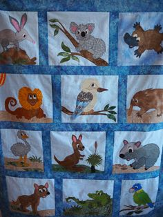Beryl's original quilt - pattern for sale soon!