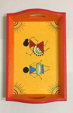 ideas for painting diy crafts products Worli Painting, Pottery Painting, Fabric Painting, Abstract Paintings, Art Drawings Beautiful, Art Drawings For Kids, Madhubani Art, Madhubani Painting, Diy Wall Art