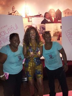 """Pastry Divas taking Picture with """"Eve"""" eating our treats... so loved this..."""