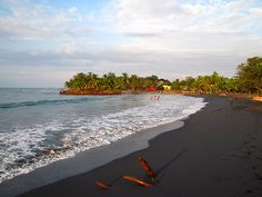 paya negra cahuita, costa rica. This beach is just as beautiful in person! Beware of rip tide, though