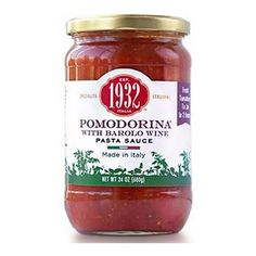 Menu 1932 Pomodorina with Barolo Wine Pasta Sauce, 24 oz (Pack of 2) > Stop everything and read more details here! : Fresh Groceries