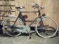 My own vintage ride,vintage Raleigh Superbe(The all steel bicycle)(year undefined) 3 speed roadster with dyno hub.