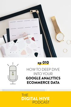 In this episode we're talking about all the extra tracking info you can find in Google analytics if you have an online purchase in your sales process. Analytics Dashboard, Google Analytics, Branding Your Business, Etsy Business, Sales Process, Social Media Quotes, Marketing Articles, Competitor Analysis, Digital Marketing