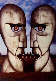 Official Pink Floyd postcard measuring approx 10 5cm x 15cm featuring artwork from the Division Bell Rock Off Officially Licensed Merchandise See all