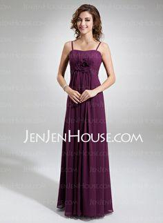 Bridesmaid Dresses - $113.99 - A-Line/Princess Sweetheart Floor-Length Chiffon  Charmeuse Bridesmaid Dresses With Ruffle (007004300) http://jenjenhouse.com/A-line-Princess-Sweetheart-Floor-length-Chiffon-Charmeuse-Bridesmaid-Dresses-With-Ruffle-007004300-g4300